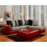 AF6350-Sierra Red Sectional